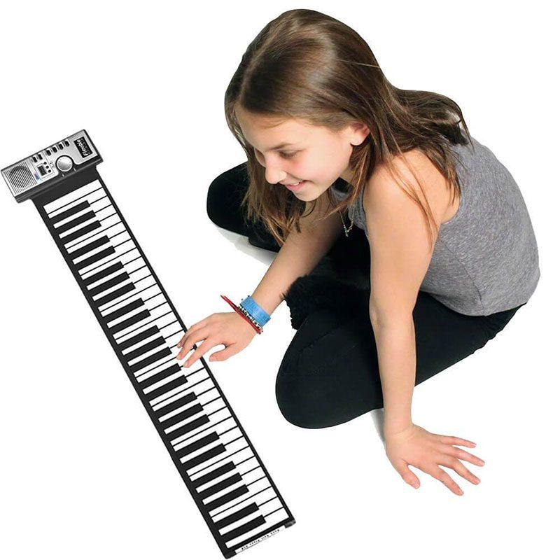 Có nên mua đàn Piano phím cuộn để học không 2