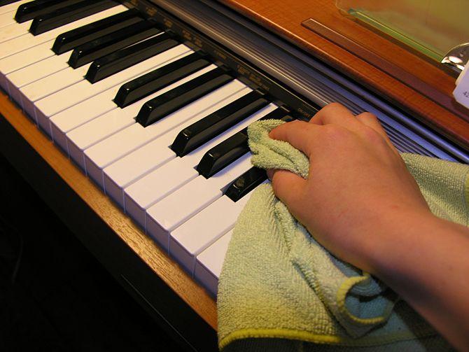 Hướng dẫn cách bảo quản đàn Piano điện tại nhà