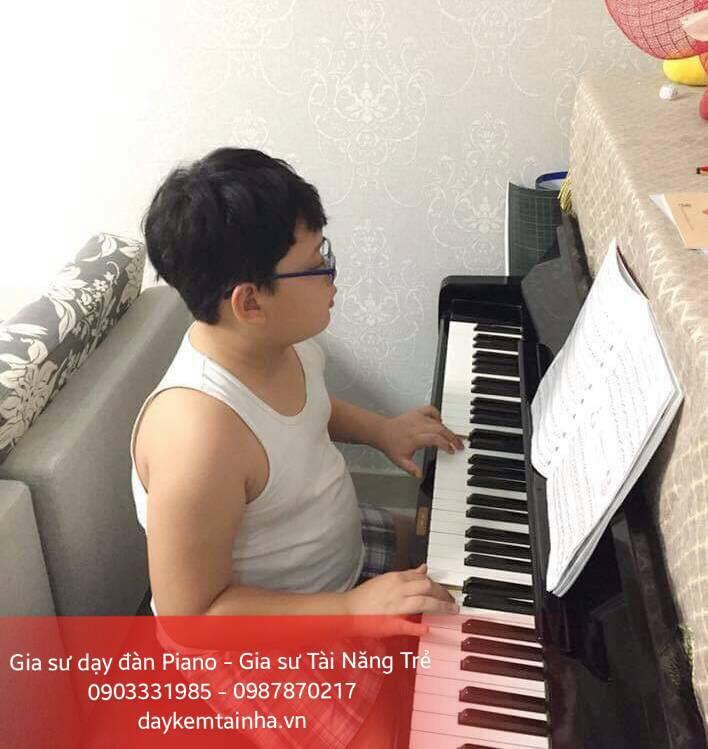 Nhận gia sư dạy đàn Piano tại TPHCM